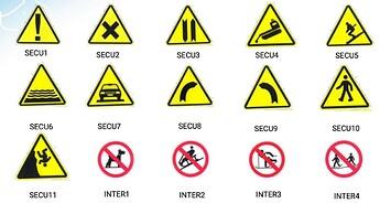 Signalisation et sécurité sur les pistes