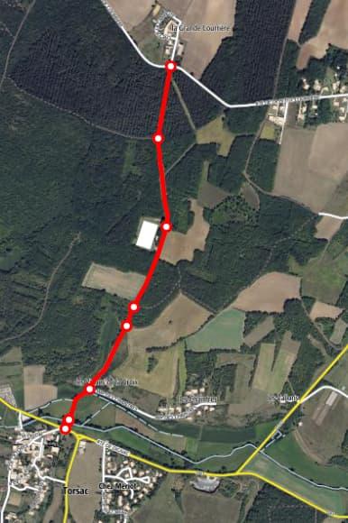 Route du stade